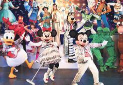 Disney kahramanları İstanbul'da