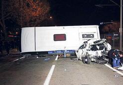 Alkollü sürücü dehşet saçtı: 4 ölü 10 yaralı