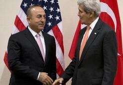 Çavuşoğlu ile Kerry görüştü