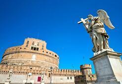 Castel Sant'Angelo'da meleklerin izinde