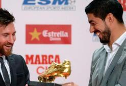 Messi ödülüne kavuştu