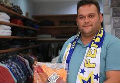 Fenerbahçe taraftarından darp edilen Galatasaraylıya destek