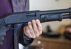 İnternetten satın aldığı pompalı tüfekle marketi soydu