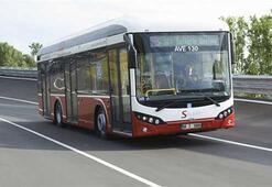 Yerli elektrikli otobüs Avrupada görücüye çıktı