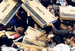 'Black Friday'de televizyona hücum