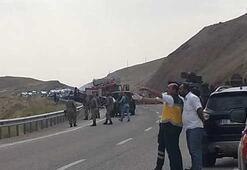Vanda askeri araca saldırı: 5 asker yaralı, 1 sivil hayatını kaybetti