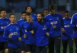 Trabzonsporda Volkan Şen takımla çalıştı