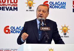 Cumhurbaşkanı Erdoğan: Gençler sakın hiçbir beşeri gücün önünde eğilmeyin