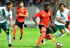 Adanaspor - Bursaspor: 1-2