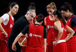 Milli Kadın Basketbol Takımı Estonya deplasmanında