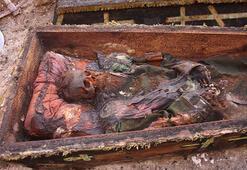 Ardahanda inşaat kazısı sırasında cesedi bulunan subayın sırrı çözüldü