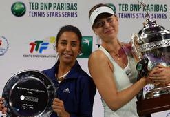 Sharapova, Çağla Büyükakçayı yendi