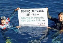Derya Can'dan Atatürk anısına rekor