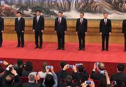 Çin Komünist Partisinin lider kadrosu açıklandı
