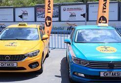 İstanbullular turkuaz taksiye yoğun ilgi gösteriyor