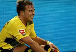 Borussia Dortmundda Götze ilk yarıyı kapattı