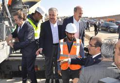 Bakan Arslan, Uşakta yüksek hızlı tren ve çevre yolu projelerini inceledi