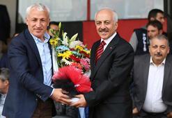 Trabzonspordan Çorum Belediyespora hasılat jesti