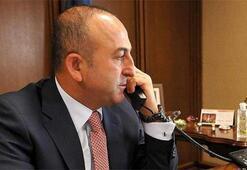 Çavuşoğlu UNESCO Genel Direktörü Azoulay ile görüştü