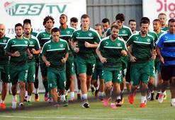 Bursasporda Başakşehir hazırlıkları başladı
