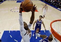 Cavaliers, 76ersi yenerek galibiyet serisini 8e çıkardı