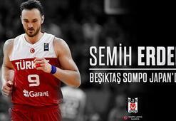 Semih Erden resmen Beşiktaş Sompo Japanda