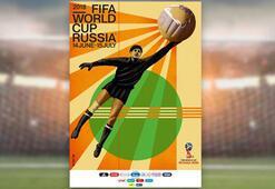 2018 FIFA Dünya Kupasının afişi sunuldu