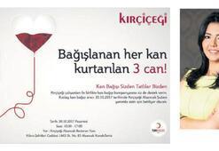 Kırçiçeği'nden kan bağışı kampanyası