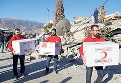 Türkiye'den  acil yardım eli