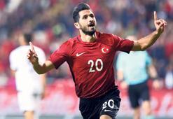 Emre Akbabadan ilk gol