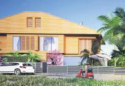 Havuz, bahçe ve çatı terası aynı projede