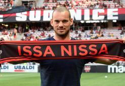 Sneijderin beklediği haber geldi
