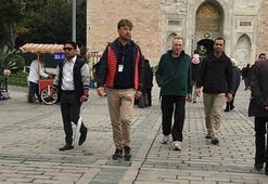 Oscarlı yıldız Christopher Walken İstanbul'a geldi