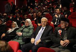 Başbakan Binali Yıldırım Ayla filmini izledi