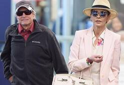 Catherine Zeta Jonesun havalimanı şıklığı