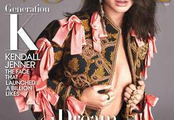 Kendall Jenner Vogue Eylül sayısı kapağında