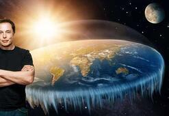 Elon Musk isyan etti Dünya, düz olan tek gezegen mi