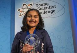 11 yaşındaki kız binlerce dolarlık bilim ödülünü kazandı