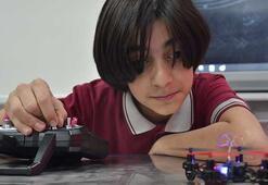 12 yaşındaki Türk, bomba bulan drone tasarladı