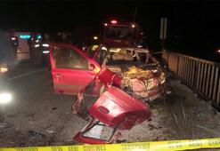 Afyonkarahisar'da trafik kazası: 1 ölü, 8 yaralı
