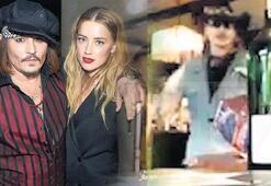 Depp'i yakan görüntüler