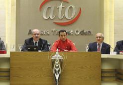 ATO, Ampute Milli Futbol Takımını ağırladı