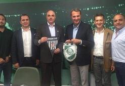 Fikret Orman, Brezilyada başkanları ziyaret etti