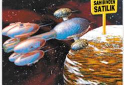 Uzayda arsa satılıyor