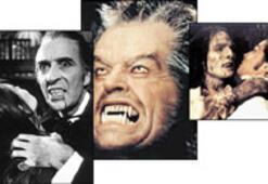 Ünlü hayalet, vampir ve kurtadamlar