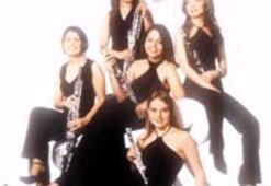 Festivalin klarnetçi kızları