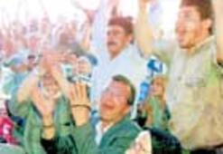 Mudanya'da tarihi sevinç