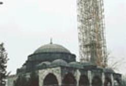 Eğik minareye deprem onarımı