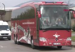 A Milli Futbol Takımı Arnavutluka gitti
