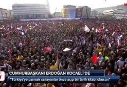 Cumhurbaşkanı Erdoğandan sert tepki: Sen önce kendini sorgula